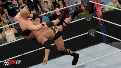 Состоялся релиз WWE 2K17 на персональных компьютерах