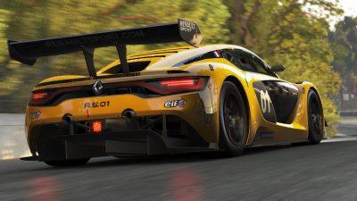 Сайнс протестировал машину «Рено» в Gran Turismo Sport