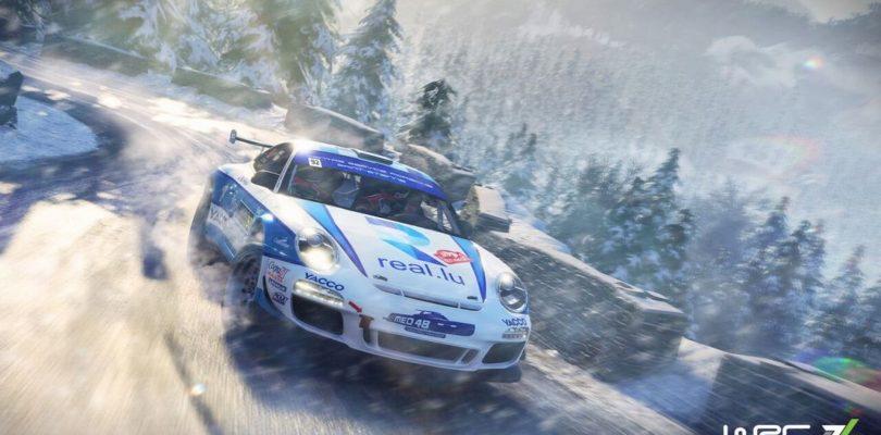 В игре WRC 7 появится раллийный Porsche