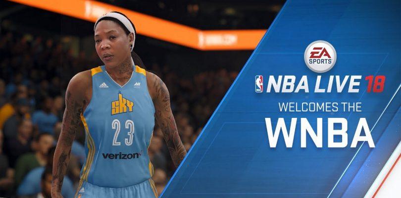 В NBA Live 18 появятся женские команды