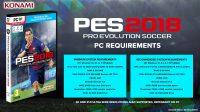 Konami назвала системные требования игры PES 2018