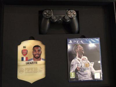 Мбаппе, Фалькао и Ляказетт похвастались подарочным изданием FIFA 18