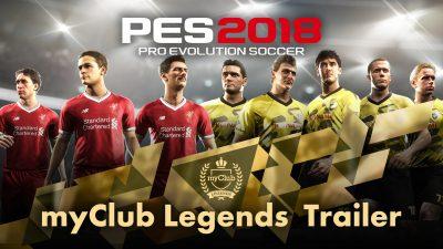 В PES 2018 появятся легенды «Боруссии» и «Ливерпуля»