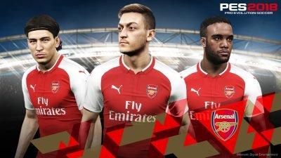 Разработчик PES 2018 объявил о партнерстве с «Арсеналом»