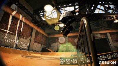 Демоверсия симулятора скейтбордина Session стала доступна для скачивания