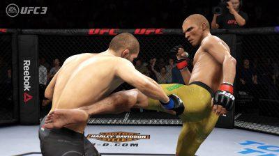 EA Sports предлагает бесплатно поиграть в UFC 3