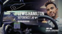 Заезд Льюиса Хэмилтона по «Нюрбургрингу» в игре GT Sport