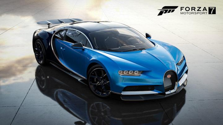 Bugatti Chiron (2018) — Forza Motorsport 7