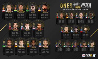 Муса, Мхитарян и Санчес получили зимние карточки Ones To Watch в FIFA 18