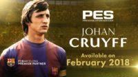 Йохан Кройф появится в Pro Evolution Soccer 2018