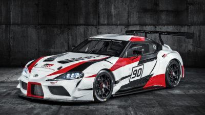 В GT Sport появится новая Toyota Supra, презентованная на автосалоне в Швейцарии