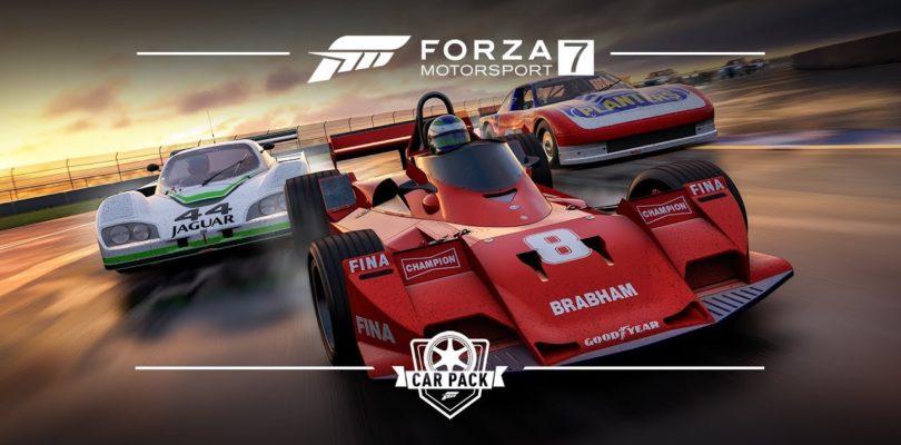 Для Forza Motorsport 7 вышел набор с гоночными машинами