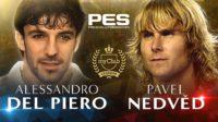 Легенды «Ювентуса» Дель Пьеро и Недвед появятся в PES 2018