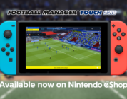 Football Manager Touch 2018 вышла на Nintendo Switch
