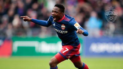 Форвард ЦСКА Ахмед Муса вошел в 32-ю команду недели FIFA 18