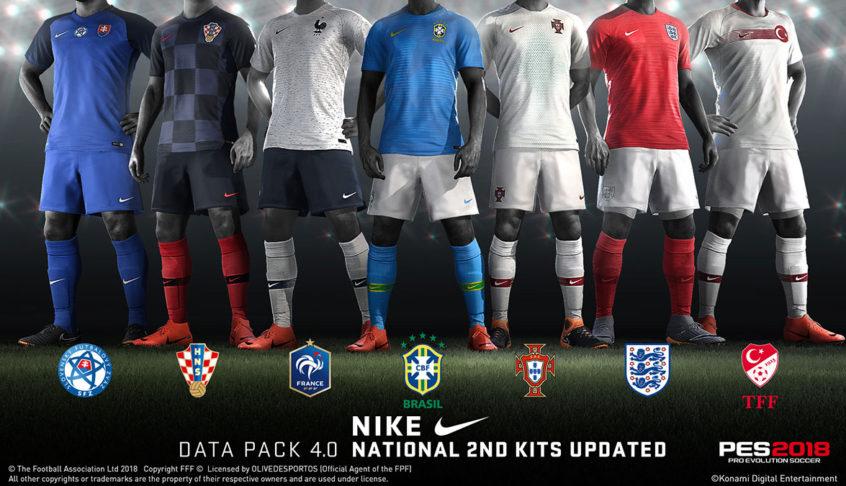 Pro Evolution Soccer 2018 — DLC 4.00