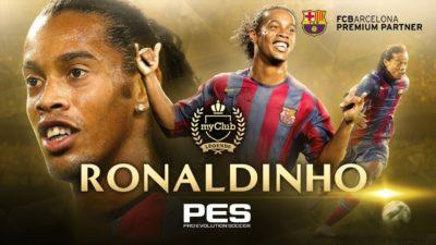Роналдиньо, формы сборных и новые лица. Подробности обновления PES 2018