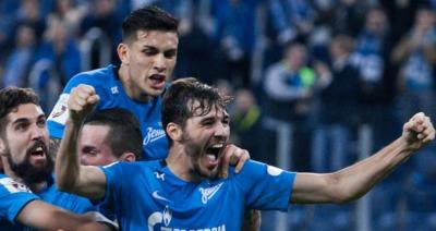 Полузащитник «Зенита» Ерохин вошел в 35-ю команду недели FIFA 18
