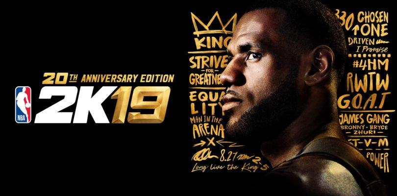 Анонс NBA 2K19: Леброн Джеймс – на обложке, релиз игры – 11 сентября, а демо – 31 августа