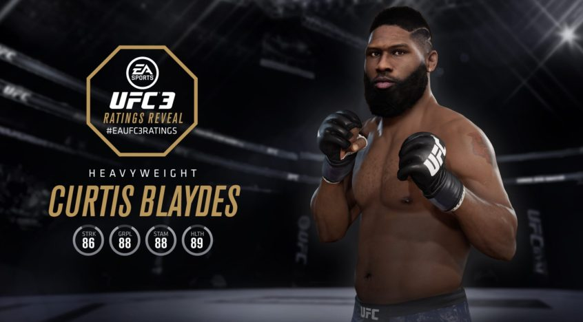 Curtis Blaydes — UFC 3