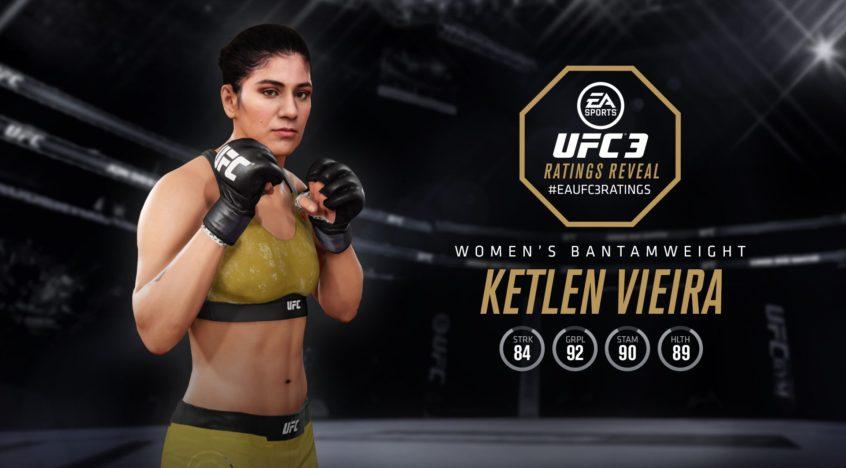 Ketlen Vieira — UFC 3