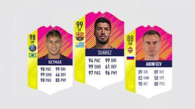 Акинфеев, Суарес и Неймар – в команде 1/8 финала ЧМ в FIFA 18