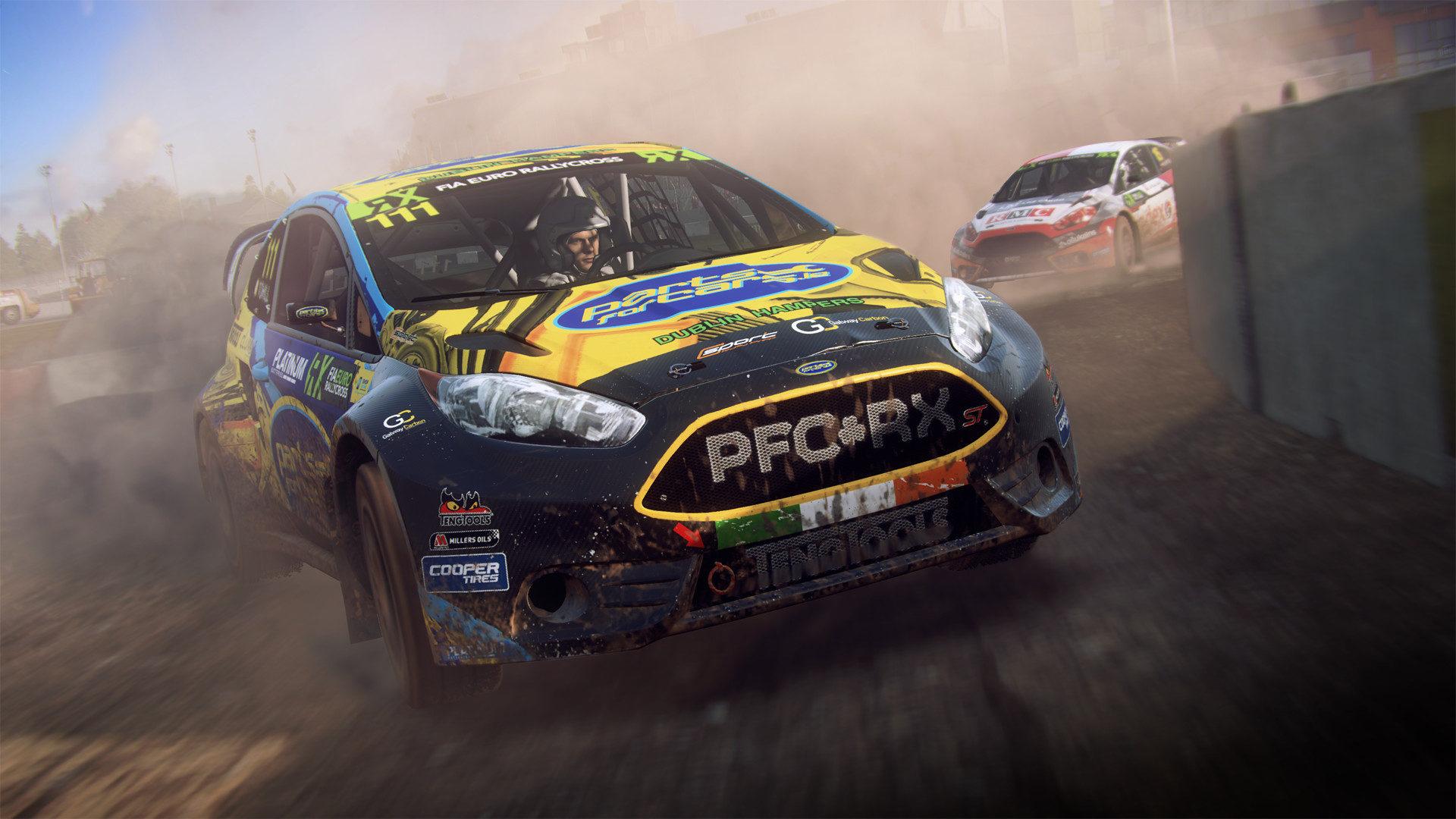 Codemasters анонсировала гоночный симулятор DiRT Rally 2.0