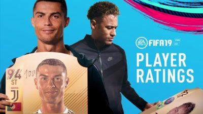 «Эй, почему не 100?». Роналду и другие о своем рейтинге в FIFA 19