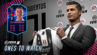 Роналду, Головин и Смолов вошли в состав Ones To Watch в FIFA 19