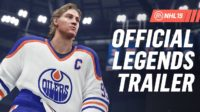 Гретцки, Лемье и еще 198 легенд хоккея появятся в NHL 19
