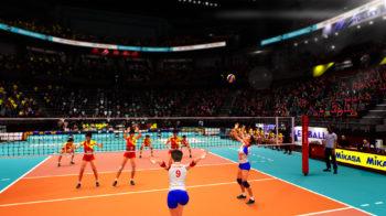 Скриншоты игры Spike Volleyball