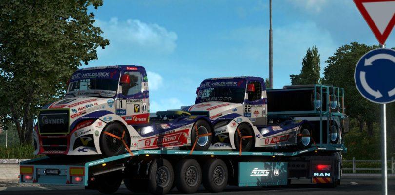 В Euro Truck Simulator 2 стартовал ивент, посвященный гонкам на грузовиках