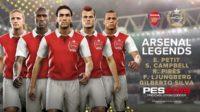 Пять легенд лондонского «Арсенала» появились в PES 2019