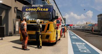 Скриншоты игры FIA European Truck Racing Championship