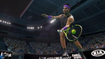 Скриншоты игры AO Tennis 2