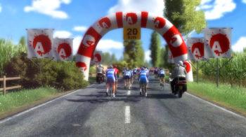 Скриншоты игры Tour de France 2020