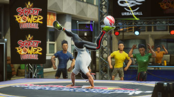 Скриншоты игры Street Power Football