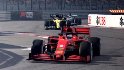 Первый геймпленый трейлер гоночного симулятора F1 2020