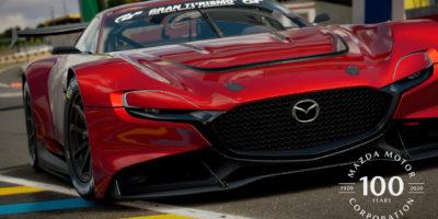 В Gran Turismo Sport появился концепт-кар в честь 100-летия Mazda