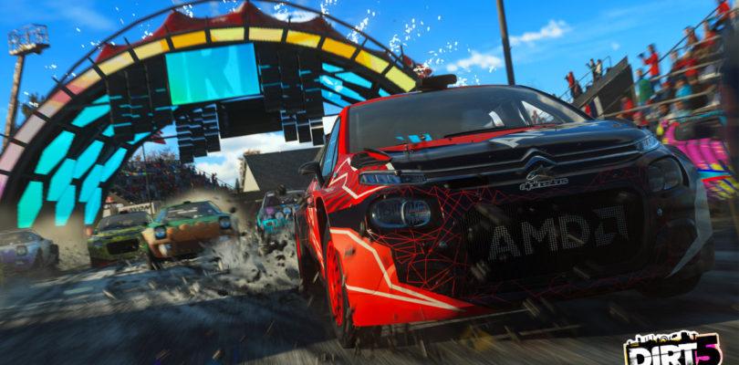 Выход гоночный игры DiRT 5 состоится в октябре 2020 года