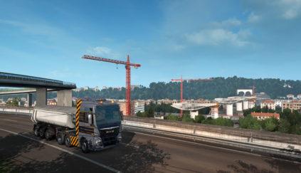 В постройке моста в ETS 2 приняли участие 102 тысячи игроков