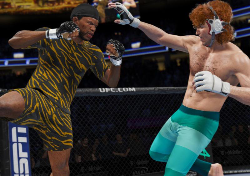 Звезды вместо чисел. EA Sports обновила систему характеристик бойцов для UFC 4