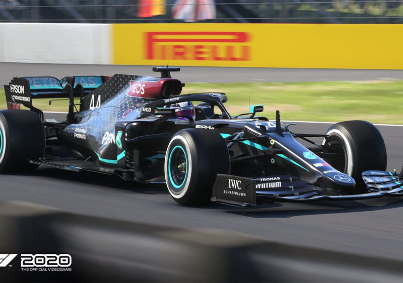 Codemasters добавила в F1 2020 черный болид Mercedes